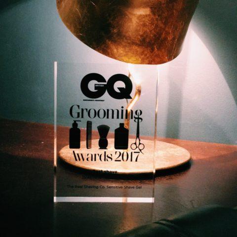 real shaving gq award