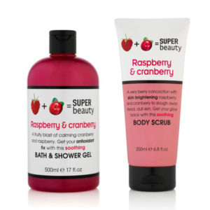 Super Beauty Raspberry & Cranberry Duo
